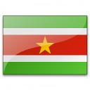 Flag Suriname Icon 128x128