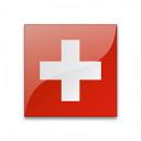 Flag Switzerland Icon 128x128