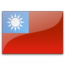 Flag Taiwan Icon 128x128