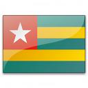 Flag Togo Icon 128x128