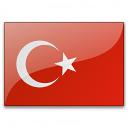 Flag Turkey Icon 128x128