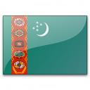 Flag Turkmenistan Icon 128x128