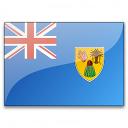 Flag Turks And Caicos Islands Icon 128x128