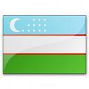 Flag Uzbekistan Icon 128x128