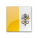 Flag Vatican City Icon 128x128