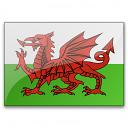 Flag Wales Icon 128x128