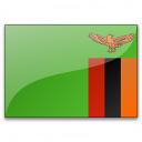 Flag Zambia Icon 128x128