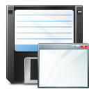 Floppy Disk Window Icon 128x128