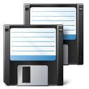 Floppy Disks Icon 128x128