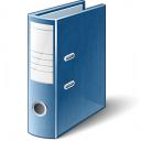 Folder 2 Blue Icon 128x128