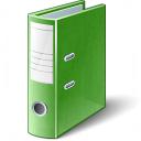 Folder 2 Green Icon 128x128