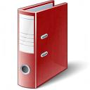 Folder 2 Red Icon 128x128