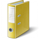 Folder 2 Yellow Icon 128x128