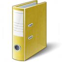 Folder 2 Yellow Icon 128x128