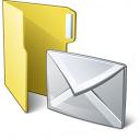 Folder 3 Mail Icon 128x128