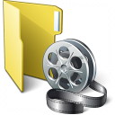 Folder 3 Movie Icon 128x128