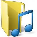 Folder 3 Music Icon 128x128