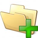 Folder Add Icon 128x128