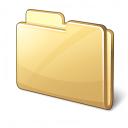 Folder Closed Icon 128x128