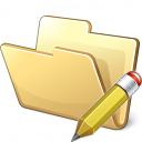 Folder Edit Icon 128x128