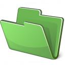 Folder Green Icon 128x128