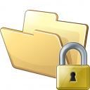 Folder Lock Icon 128x128