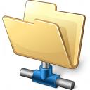 Folder Network Icon 128x128