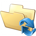 Folder Refresh Icon 128x128
