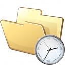 Folder Time Icon 128x128