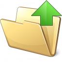 Folder Up Icon 128x128
