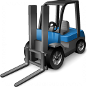 Forklift Icon 128x128