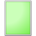 Form Green Plain Icon 128x128