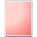 Form Red Plain Icon 128x128