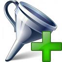 Funnel Add Icon 128x128