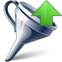 Funnel Up Icon 128x128