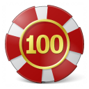 Gambling Chip Icon 128x128