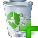 Garbage Add Icon 128x128