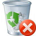 Garbage Error Icon 128x128