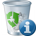 Garbage Information Icon 128x128