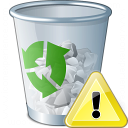 Garbage Warning Icon 128x128