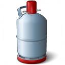 Gas Cylinder Icon 128x128