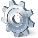 Gear Icon 128x128