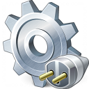 Gear Connection Icon 128x128