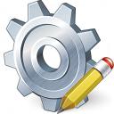 Gear Edit Icon 128x128