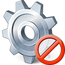 Gear Forbidden Icon 128x128