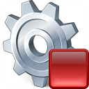 Gear Stop Icon 128x128