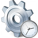 Gear Time Icon 128x128