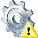 Gear Warning Icon 128x128