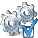 Gears Preferences Icon 128x128