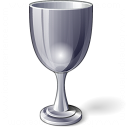 Goblet Silver Icon 128x128